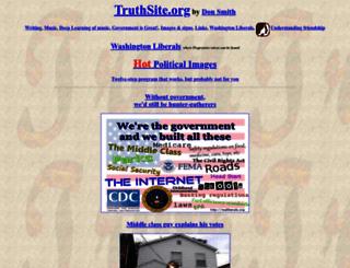 truthsite.org screenshot