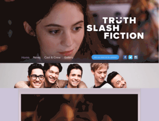 truthslashfiction.com screenshot