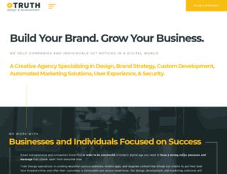 truthwebdesign.com screenshot