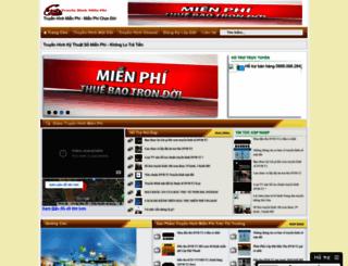 truyenhinhhdmienphi.blogspot.com screenshot