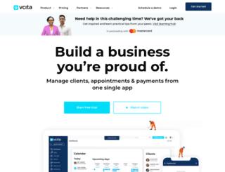 try.vcita.com screenshot
