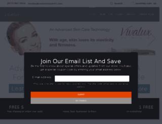 try.vivaluxskin.com screenshot