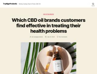 tryalignprobiotic.com screenshot