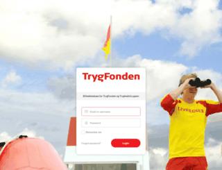 tryghed.kontainer.com screenshot