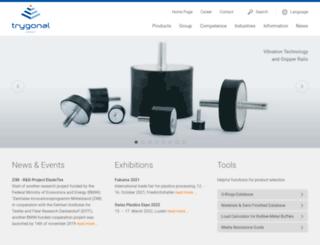 trygonal.com screenshot