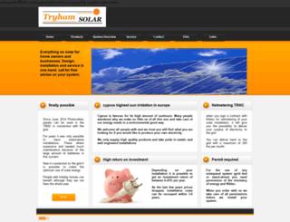 tryhamsolar.com screenshot