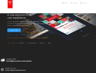 tryit.adobe.com screenshot