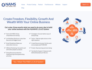 trynams.com screenshot