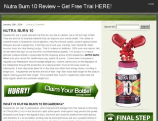 trynutraburn10.com screenshot