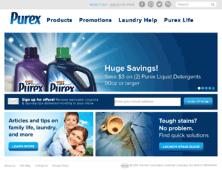 trypurex.com screenshot