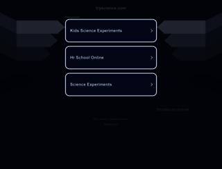 tryscience.com screenshot