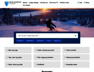trysil.kommune.no screenshot