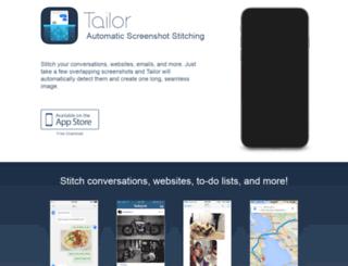 trytailor.com screenshot