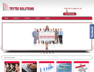 tryteksolutions.co.in screenshot