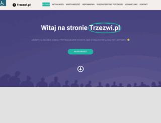 trzezwi.pl screenshot