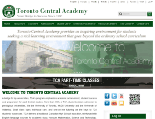 tsacademy.ca screenshot