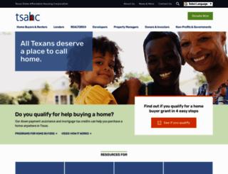 tsahc.org screenshot