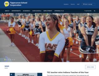 tsc.k12.in.us screenshot