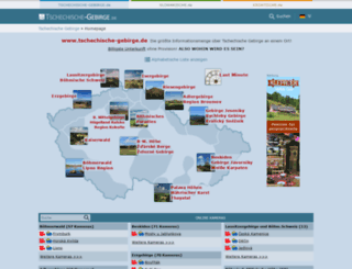 tschechische-gebirge.de screenshot