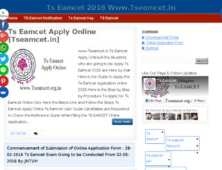 tseamcet.info screenshot