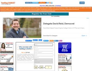 tseamcet.testbag.com screenshot