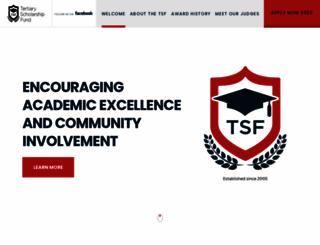 tsf.org.au screenshot