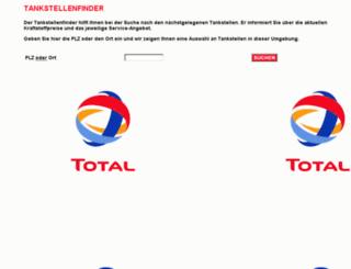 tsfinder.total.de screenshot