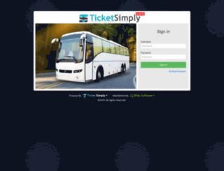 tsgds.ticketsimply.com screenshot