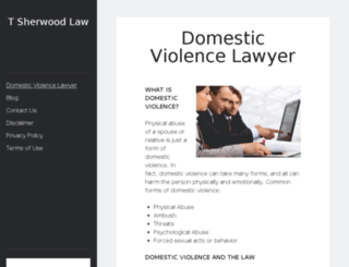 tsherwoodlaw.com screenshot