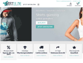 tshirt-store.de screenshot
