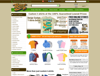 tshirtcharity.com screenshot