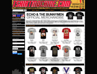tshirtmachine.com screenshot