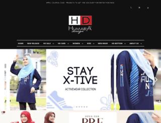tshirtmuslimah.com screenshot