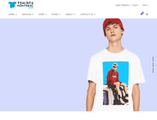 tshirtsmontreal.com screenshot