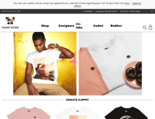 tshirtstore.se screenshot