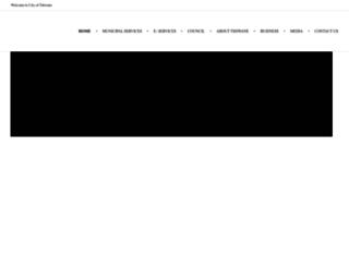 tshwane.gov.za screenshot