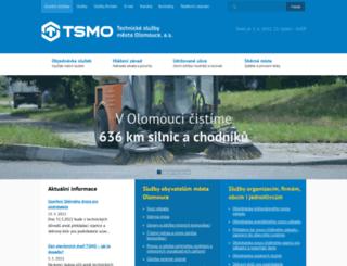 tsmo.cz screenshot