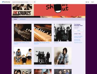 tsnt.bandcamp.com screenshot