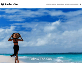 tsogosunhotels.com screenshot