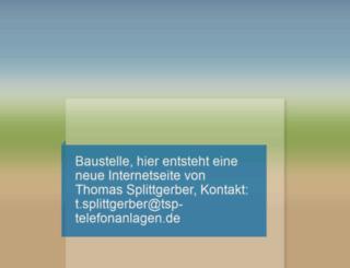 tsp-telecom.de screenshot