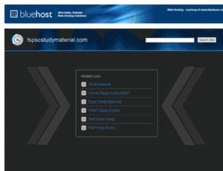 tspscstudymaterial.com screenshot
