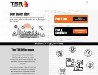 tsrconsulting.com screenshot