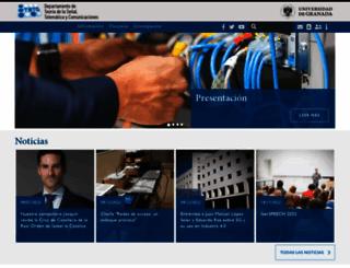 tstc.ugr.es screenshot