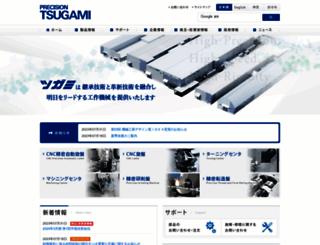 tsugami.co.jp screenshot