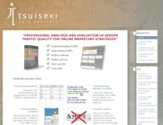 tsuiseki.com screenshot
