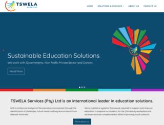 tswela.co.za screenshot