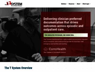 tsystem.com screenshot