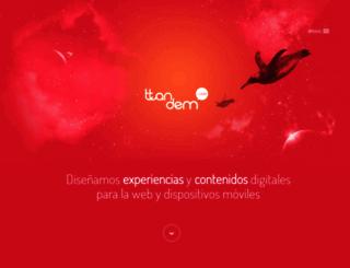 ttandem.com screenshot