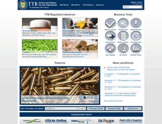 ttb.gov screenshot