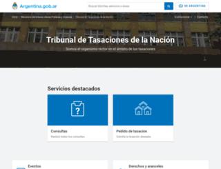 ttn.gov.ar screenshot